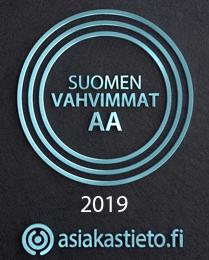 Suomen vahvimmat logo 2019